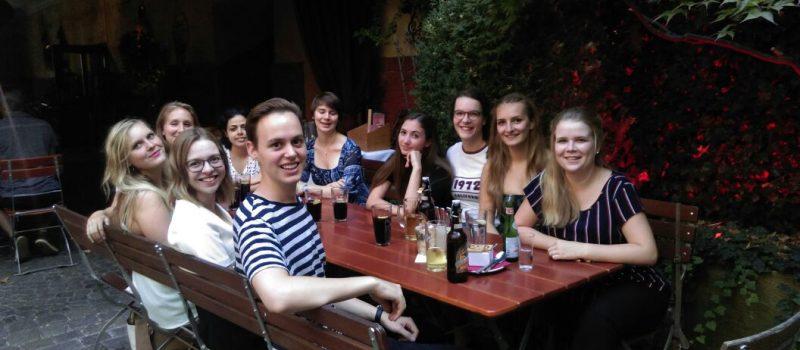 Treffen der Mitglieder der Hochschulgruppe an der Universität Passau