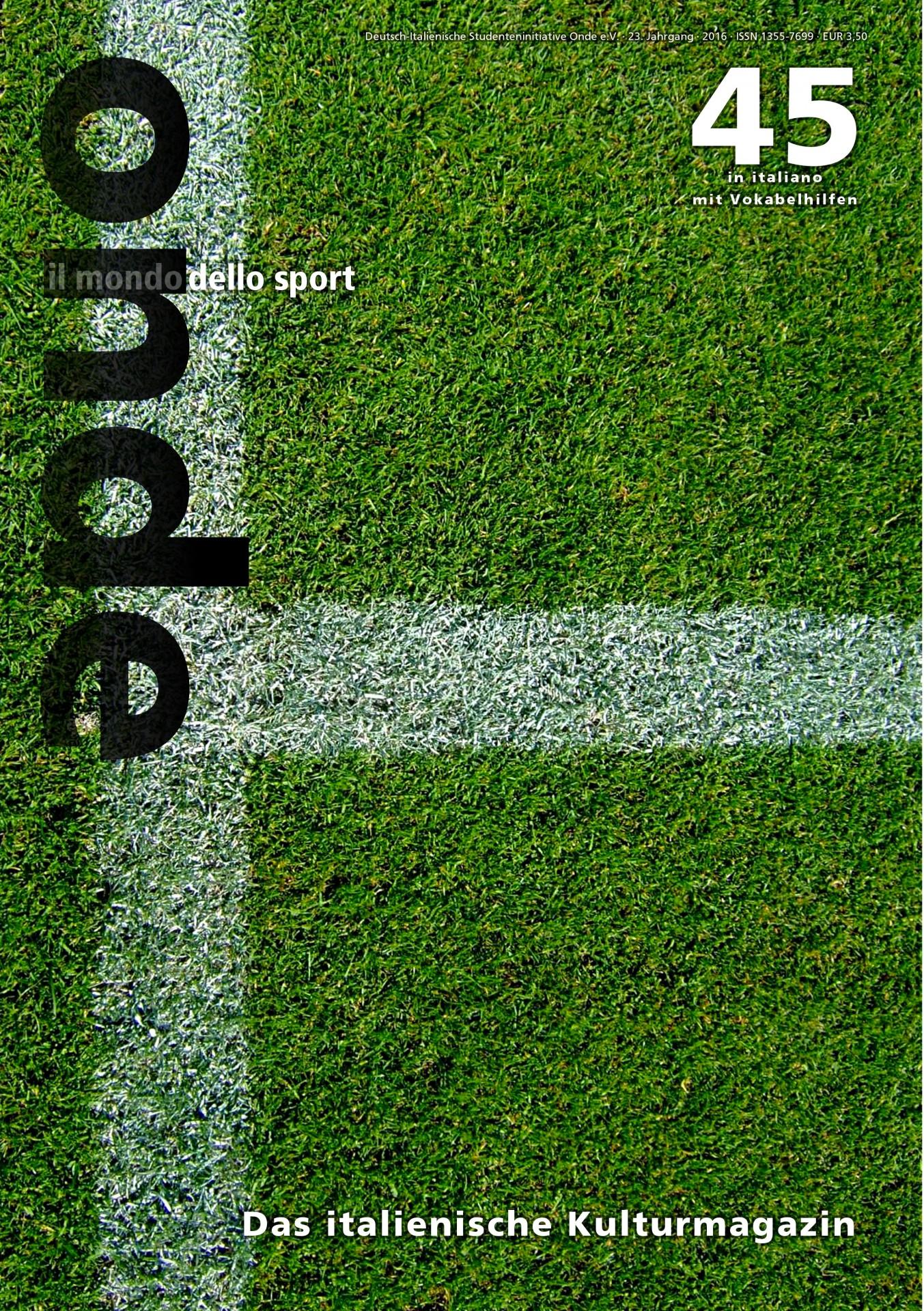 onde 45 – il mondo dello sport