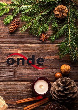 Hintergrund mit Onde-Logo